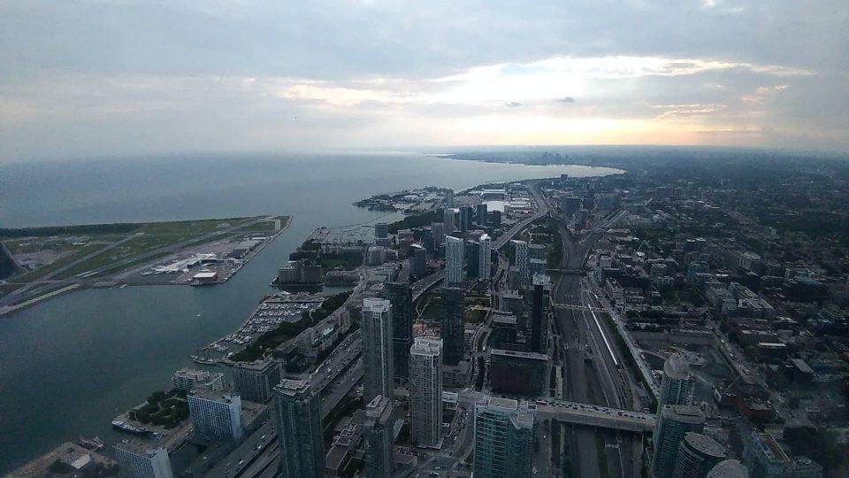 Ville de Toronto vue de la Tour du CN